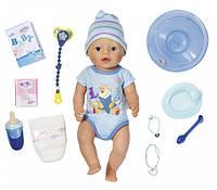 Кукла Zapf Baby Born Очаровательный Малыш 43 см с чипом и аксессуарами 822012