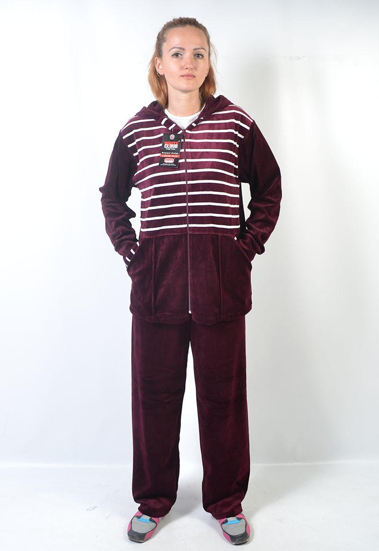 Велюровий жіночий спортивний костюм 6771fb9c5a04f