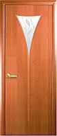 Двери межкомнатные Новый стиль Бора ольха 3d ПО+Р3