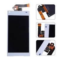 Дисплей для Sony E5803 Xperia Z5 Compact, E5823 Xperia Z5 Compact + сенсором (тачскрином) White