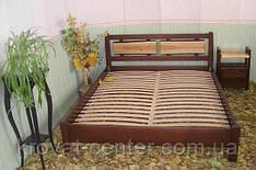 """Кровать """"Магия Дерева"""" (200*200см.), массив - сосна, ольха, береза, дуб."""