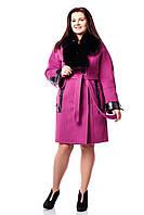 Женское зимнее пальто больших размеров (р. 46-54) арт. 819 Тон 4