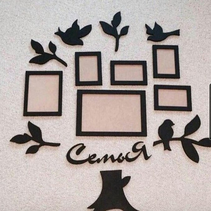 подробности палочках, рамки из дерева для фотографий декор собой один