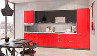 Кухня 3 D волна глянец Аква Родос