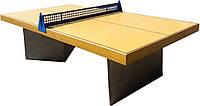 Стол теннисный бетонный