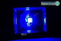 Светодиодный прожектор синий (30 Вт, IP65)
