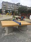 Стол теннисный бетонный №1, фото 3