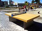 Стол теннисный бетонный №1, фото 4