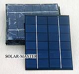 Солнечная панель 2 Вт 6V, фото 2