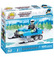 Конструктор COBI Полицейский снежный патруль, 50 деталей COBI-1569