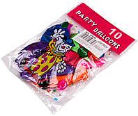 Шарики воздушные перламутровые (10шт.) цветные
