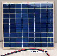 Солнечная панель поликристалл 5Вт 18V , фото 1