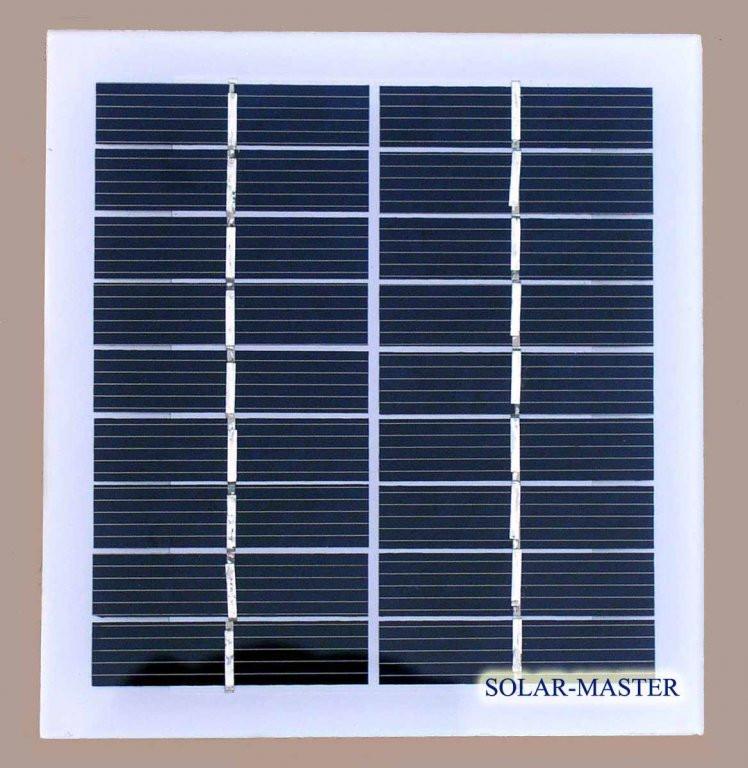 Солнечная мини-панель 2 Вт 9V