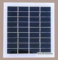 Солнечная мини-панель 2 Вт 9V , фото 1