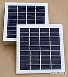 Солнечная мини-панель 2 Вт 9V, фото 2