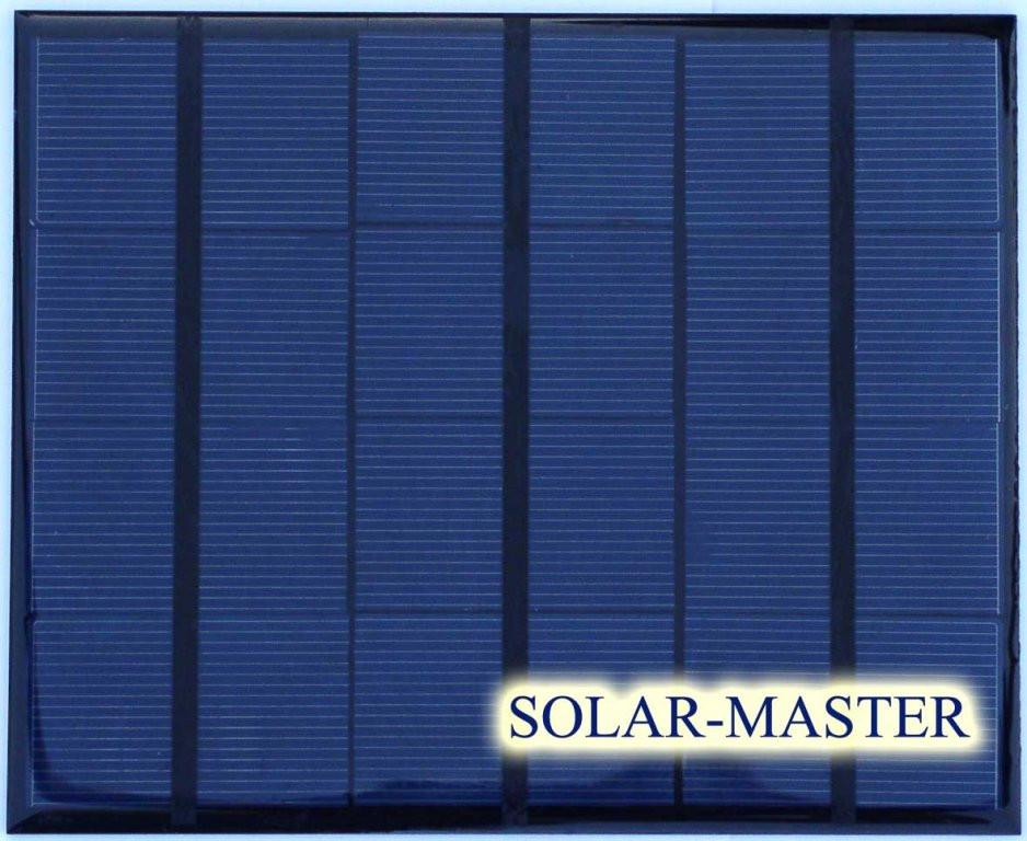 Солнечная мини-панель 3,5 Вт 6V