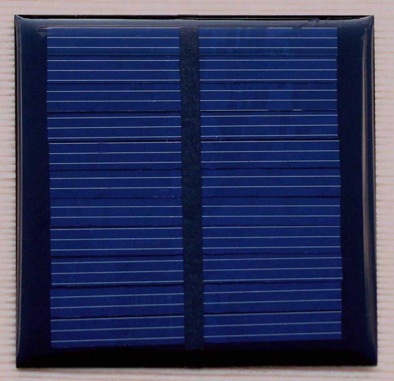 Сонячна міні-панель 0,6 Вт 5,5 V