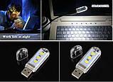 Светодиодная USB лампочка. 5 Вольт, 1,5 Вт., фото 3