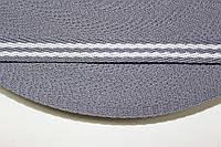ТЖ 10мм (50м) св.серый+белый, фото 1