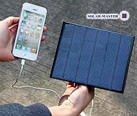 Солнечное зарядное устройство:мини-панель 3,5Вт 6V
