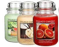 Новинка в Украине - Американские ароматические свечи в стекле от Village Garden