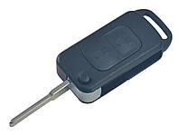 Заготовка MERCEDES выкидной ключ 2 кнопки (корпус), лезвие HU64P, с ИК портом