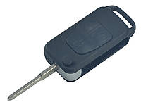 Заготовка MERCEDES выкидной ключ 3 кнопки (корпус), лезвие HU64P