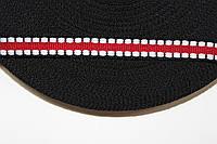 ТЖ 10мм (50м) черный+красный+белый, фото 1
