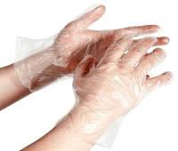 Перчатки полиэтиленовые (целлофановые) 100 шт