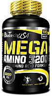 Аминокислота Biotech Mega Amino 3200 100 табл