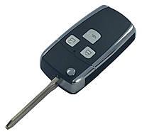 Заготовка TOYOTA COROLLA выкидной ключ 3 кнопки (корпус) 2 поколение