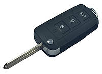Заготовка HYUNDAI выкидной ключ 3 кнопки (корпус)