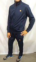 Мужской спортивный костюм на молнии Nike Найк темно-синий, пр-во Турция