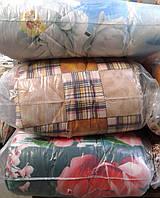 Стеганое полуторное одеяло наполнитель - шерсть