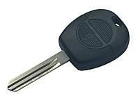 Заготовка ключа NISSAN 2 кнопки (корпус)