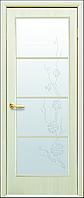 Двери межкомнатные Новый стиль Виктория дуб жемчужный ПО+Р4