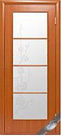 Двери межкомнатные Новый стиль Виктория ольха 3d ПО+Р4