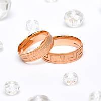 Золотые Обручальные кольца 113021