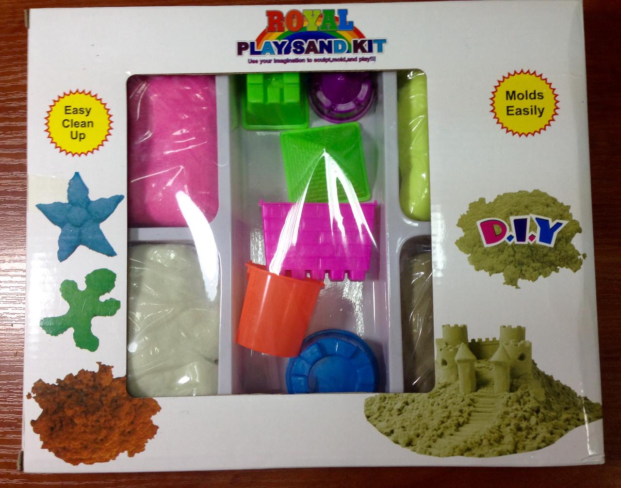 Наборы кинетический песок из 6 цветов купить с-17 строительная компания