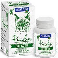 Природа Фитовит чистая кожа для кошек 50 табл.