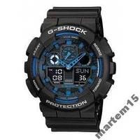 Мужские часы Casio G-SHOCK GA-100-1A2ER! ОРИГ! Гарантия- 24 мес.