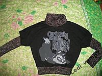 ДВОЙКА свитерок+кофта безрукавка нарядные р.44