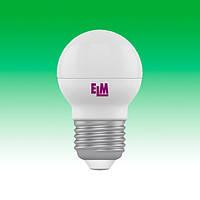 Светодиодная лампа LED 4W 4000K E27 ELM D45 (18-0015)