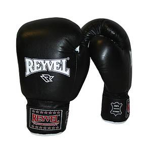 Боксерские перчатки Reyvel кожа 6oz.