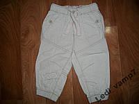 Льняные брючки штаны на мальчика 9-12 месяцев
