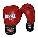 Боксерские перчатки Reyvel кожа 14oz. , фото 6