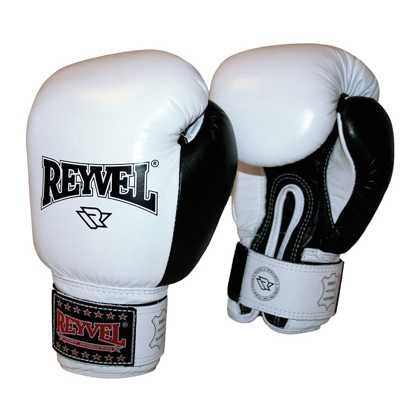 Боксерские перчатки Reyvel кожа 14oz.