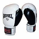 Боксерские перчатки Reyvel кожа 14oz. , фото 7