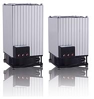 Обогреватель с вентилятором для банкомата шкафа автоматики 750 вт ватт резистивный на DIN дин рейку цена