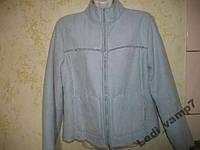 Куртка пиджак на меху на осень - весну р.44-46